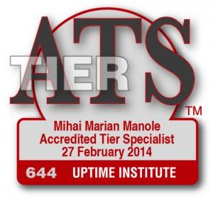 ATS - Accredited Tier Specialist, Uptime Institute, SUA
